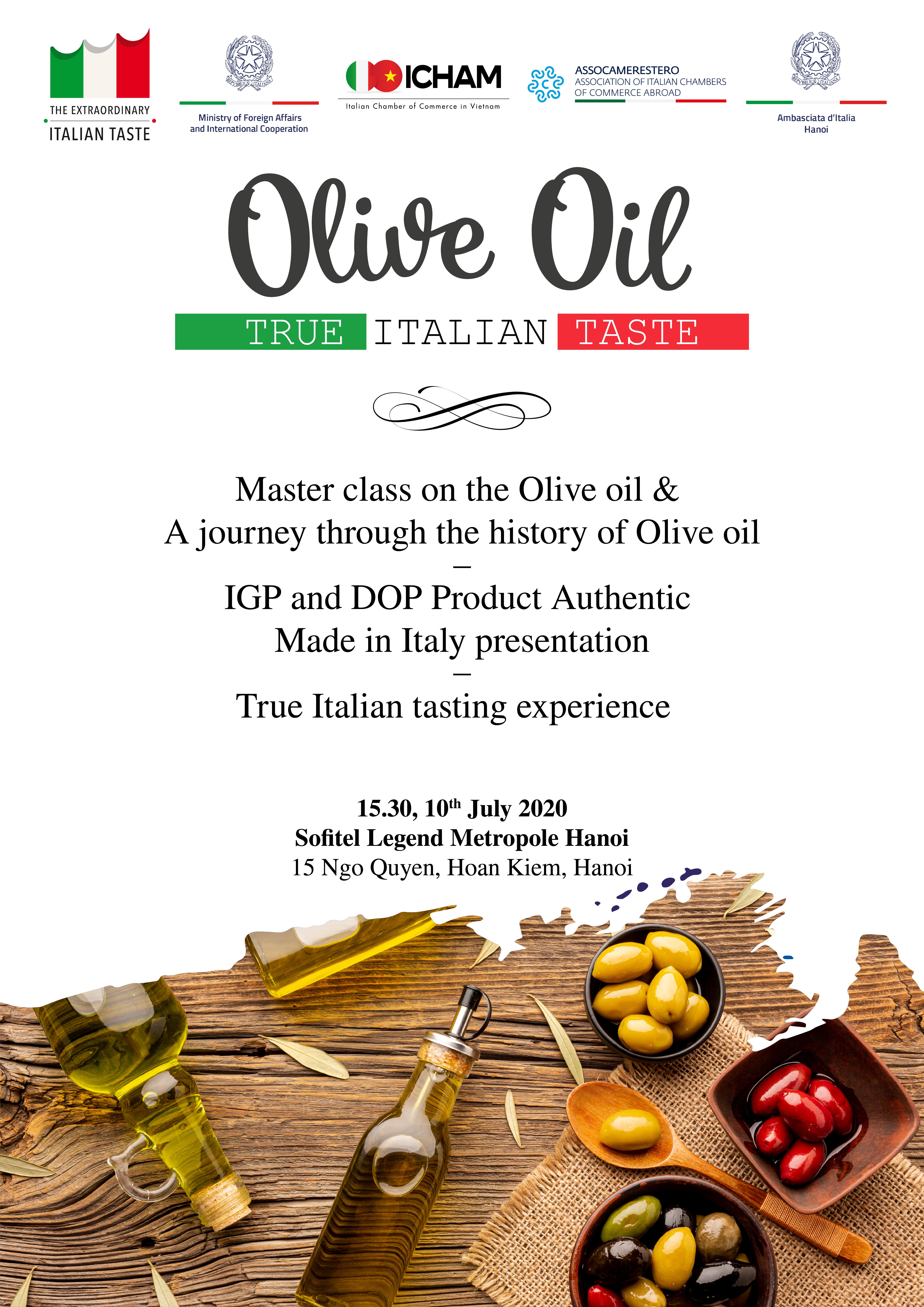 Il Vietnam alla scoperta dell'Olio di Oliva italiano
