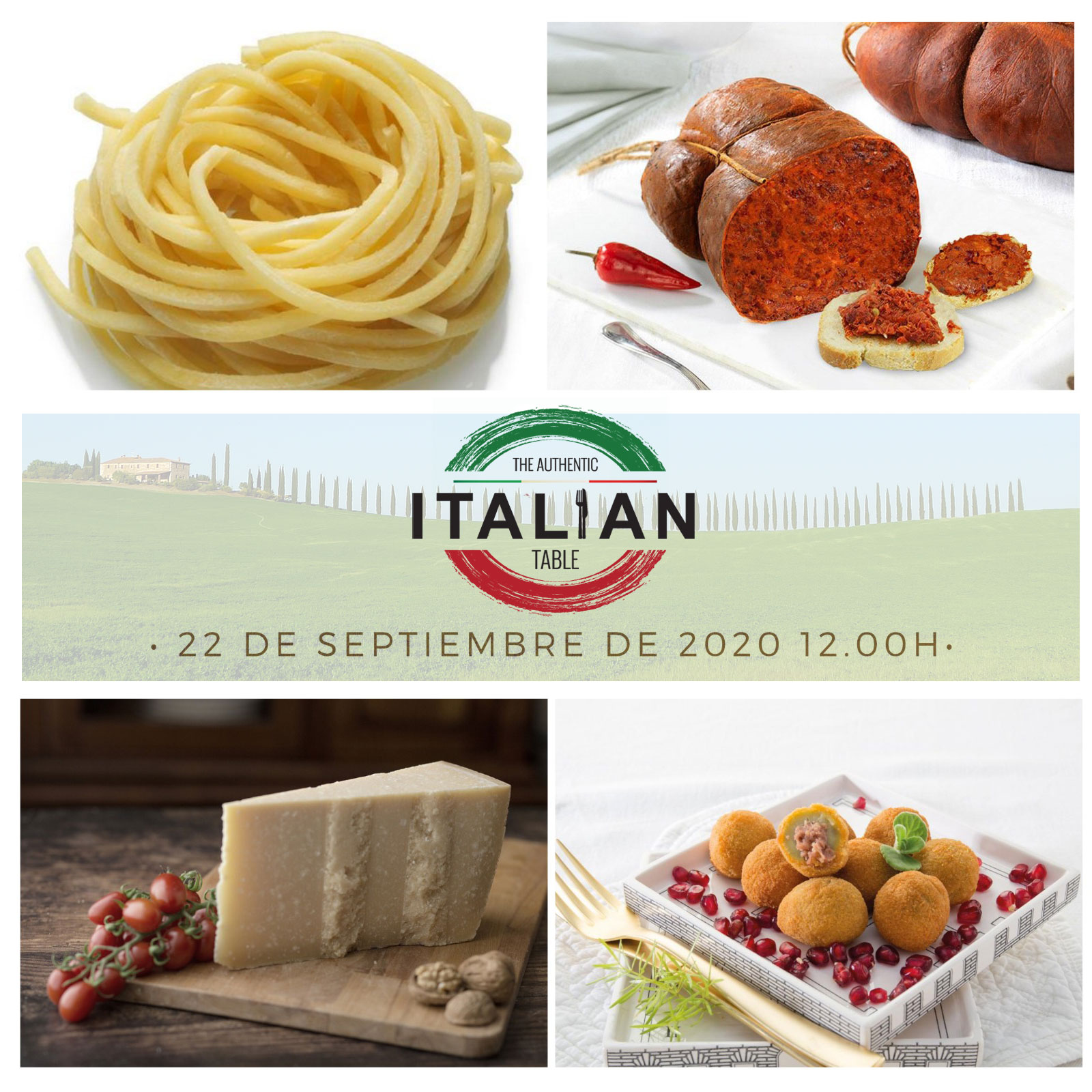 """The Authentic Italian Table"": il grande appuntamento virtuale con la gastronomia italiana in Spagna"