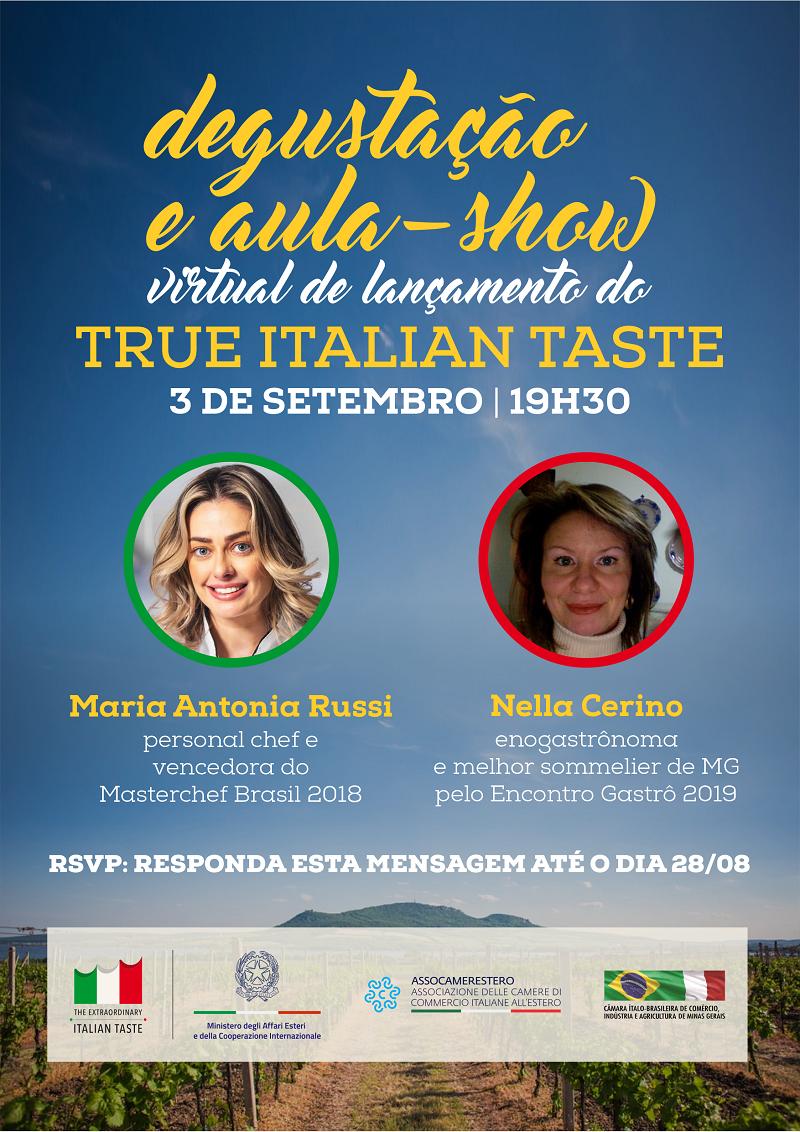 Degustazione virtuale di vini e show cooking in Brasile
