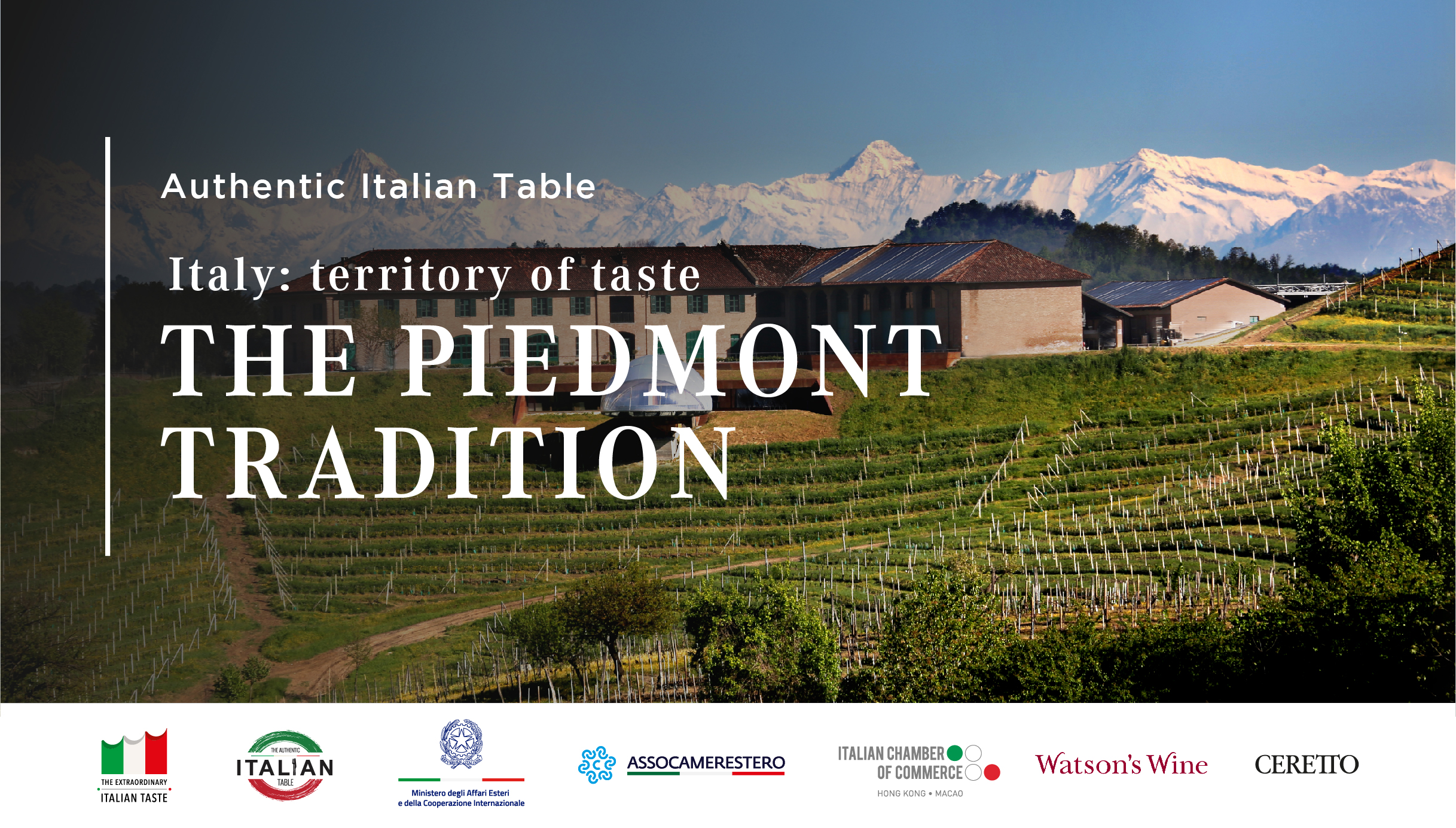 Italy: Territory of Taste – The Piedmont Tradition