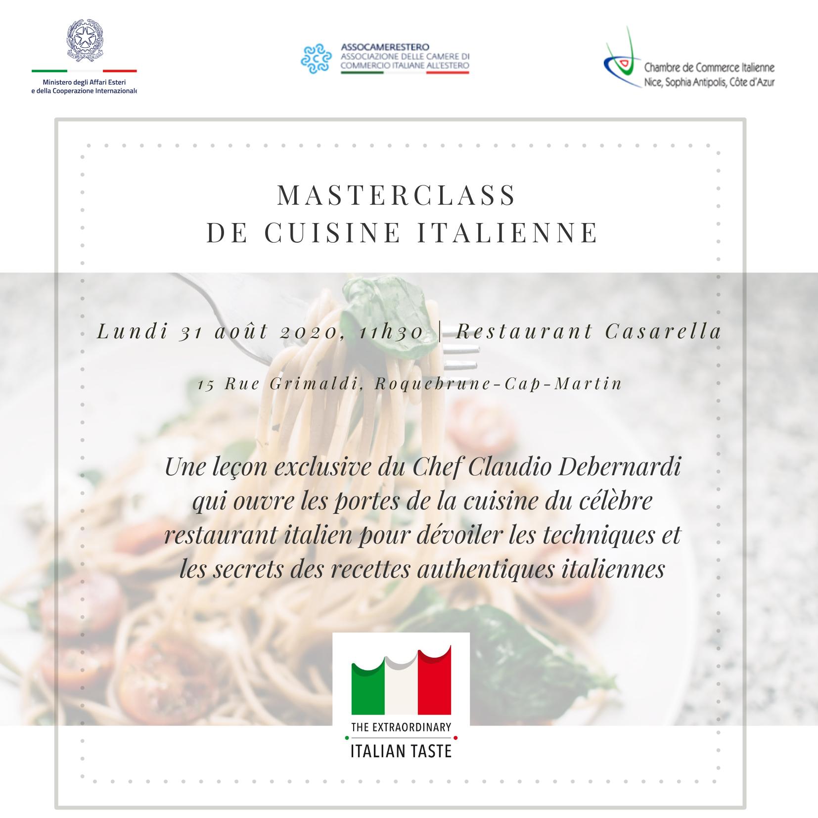 Masterclass con il Ristorante Casarella