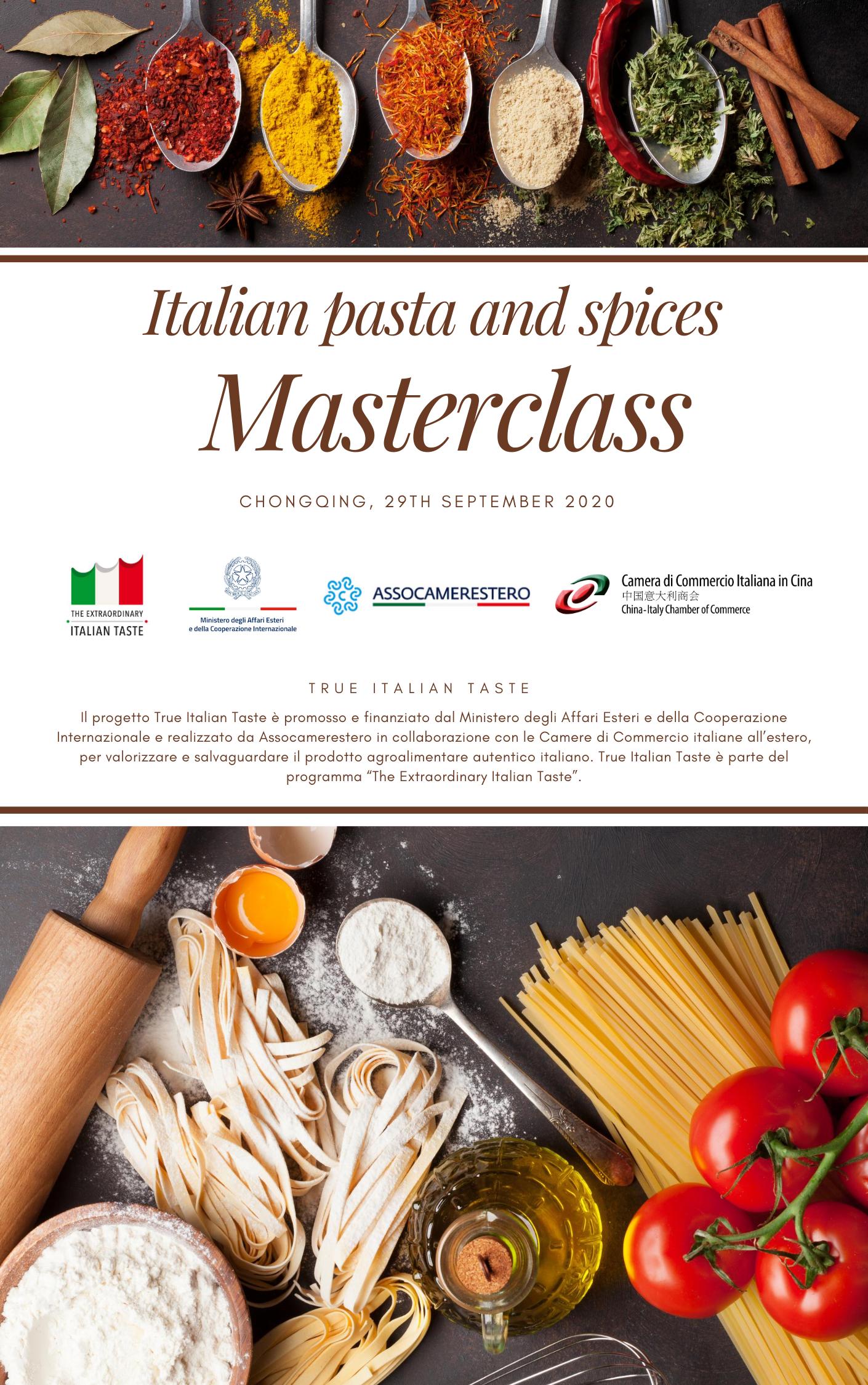"""Masterclass """"Dieta mediterranea ed erbe aromatiche"""""""