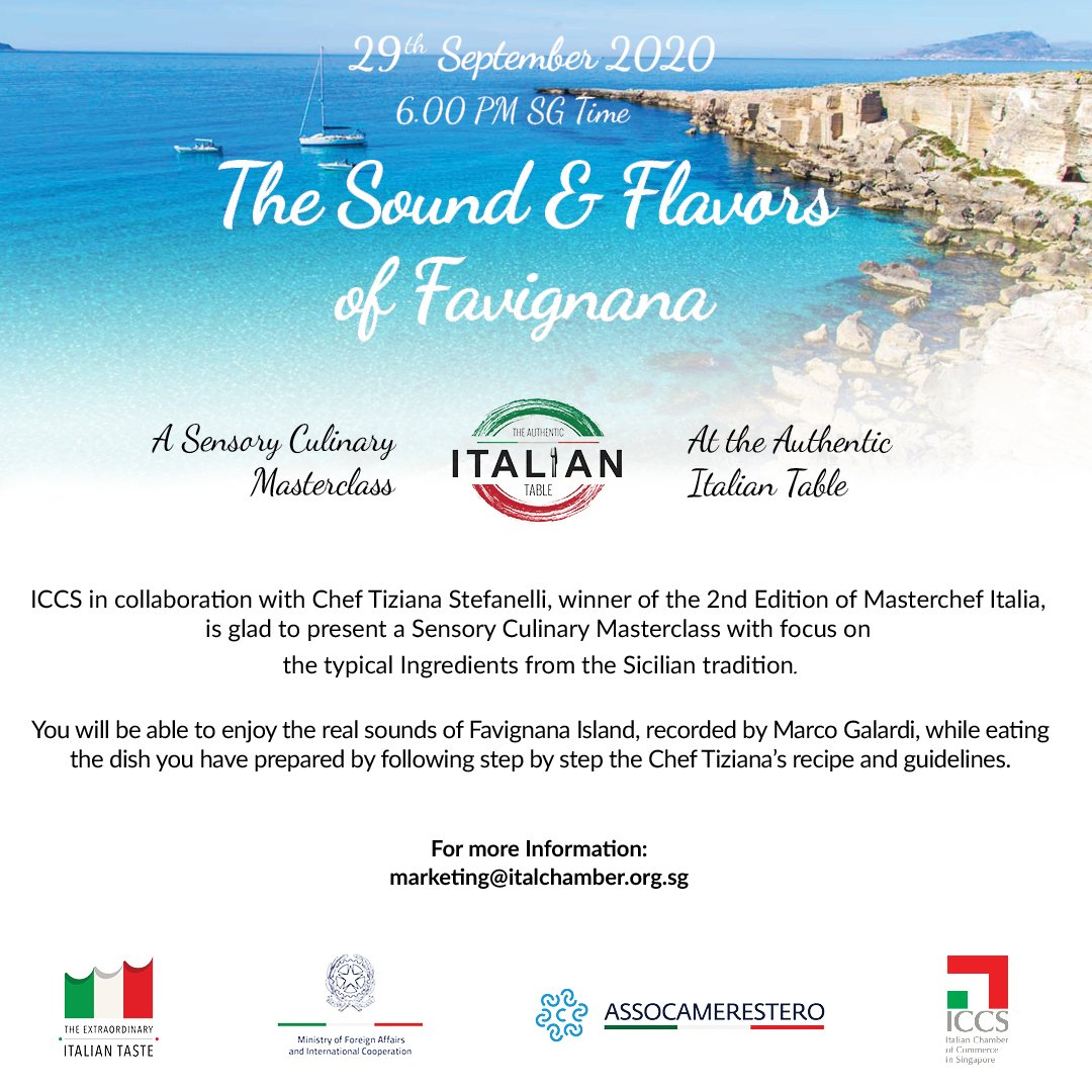 Authentic Italian Table - The sound & flavors of Favignana