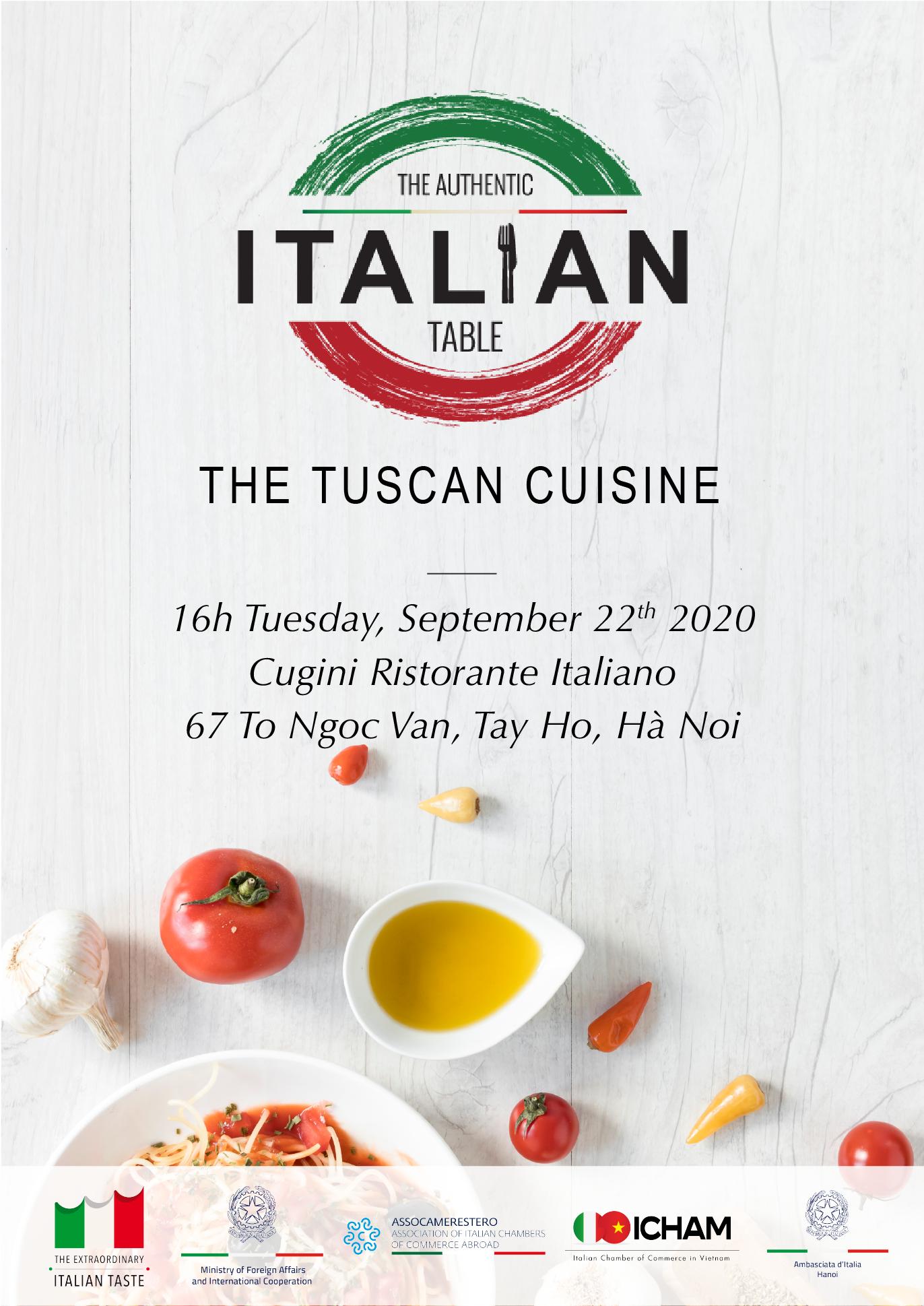Authentic Italian Table - The Tuscan cuisine