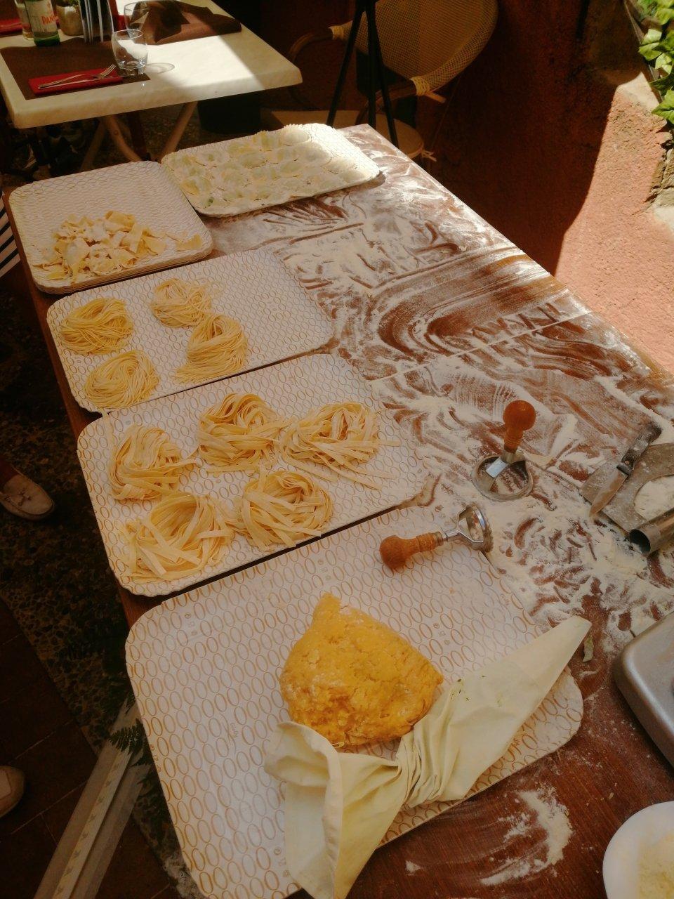 L'arte della pasta fatta in casa