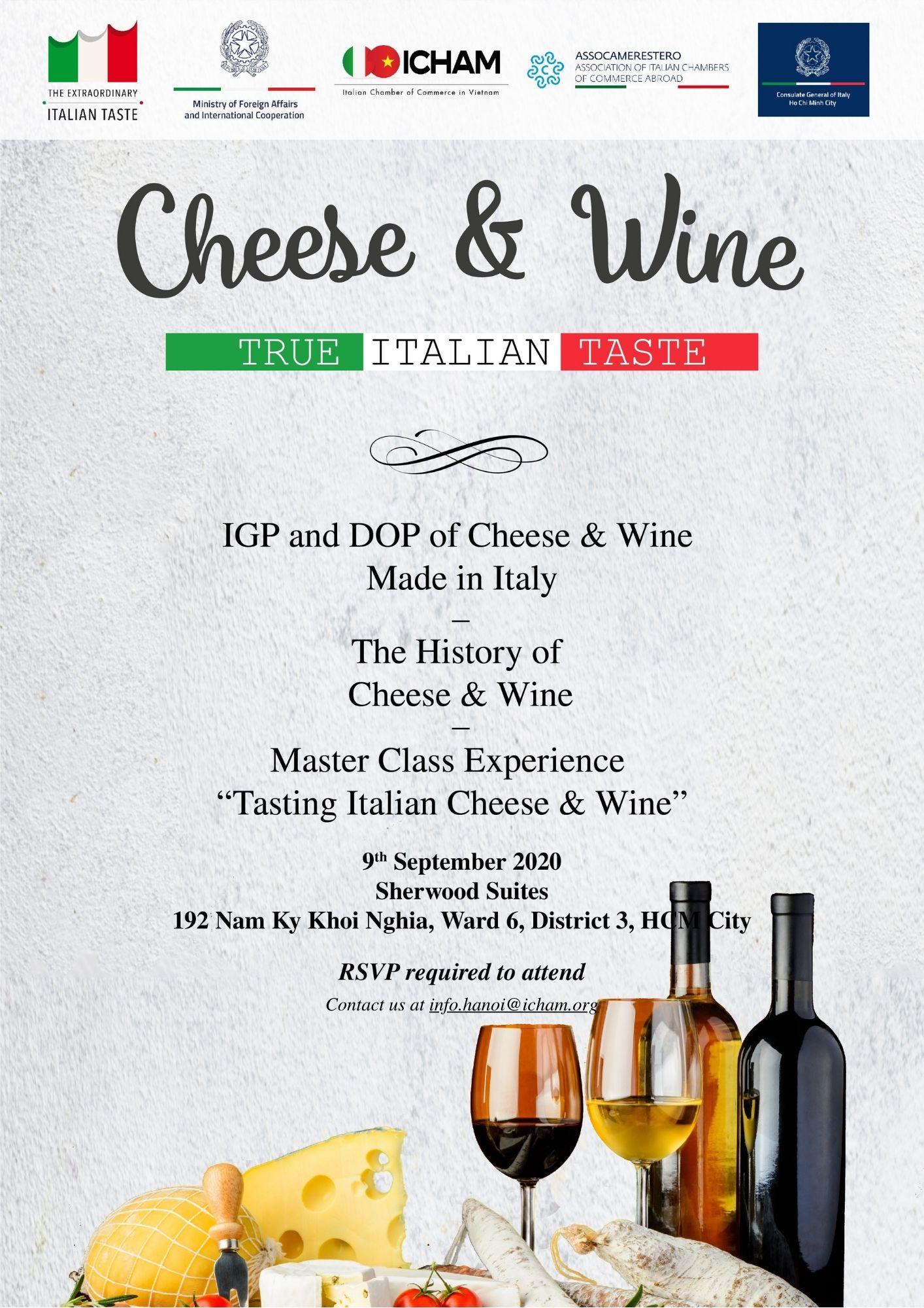 True Italian Taste – Cheese & Wine