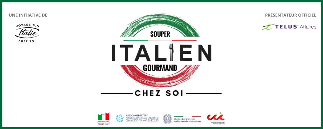 """Authentic Italian Table - """"Souper Gourmand Italien chez soi"""" con Chef Pasquale Vari"""