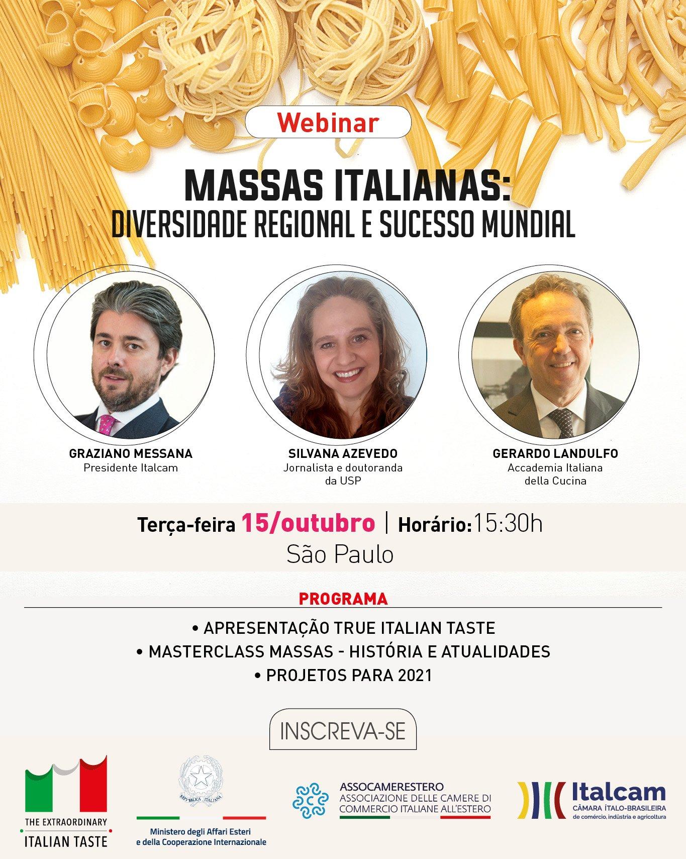 Massas Italianas: diversidade regional e sucesso mundial