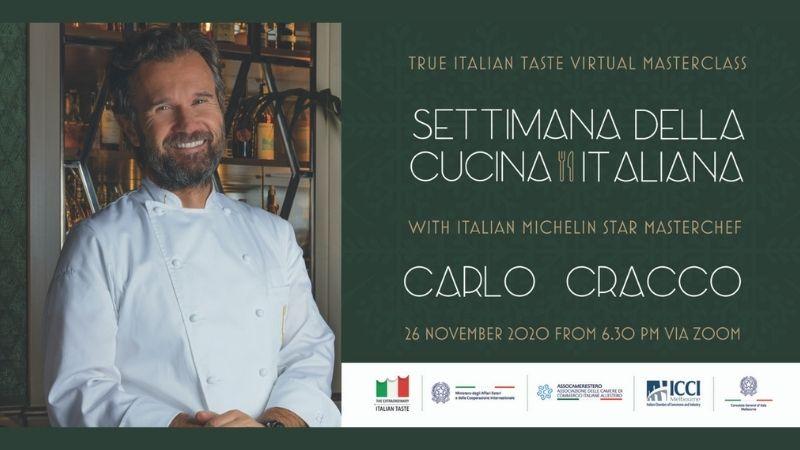 """Virtual Masterclass """"Settimana della Cucina Italiana"""""""