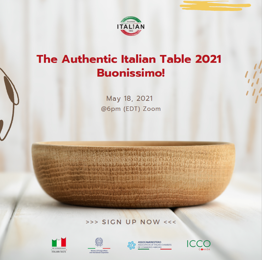 "The Authentic Italian Table 2021 – ""Buonissimo!"""