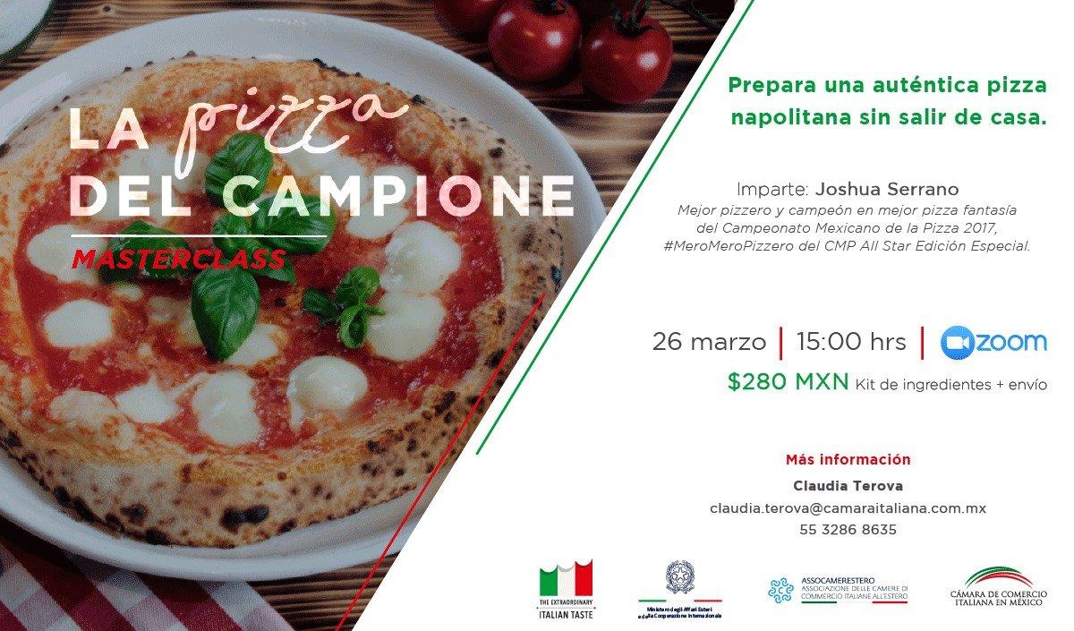 """Masterclass """"La Pizza del Campione"""""""
