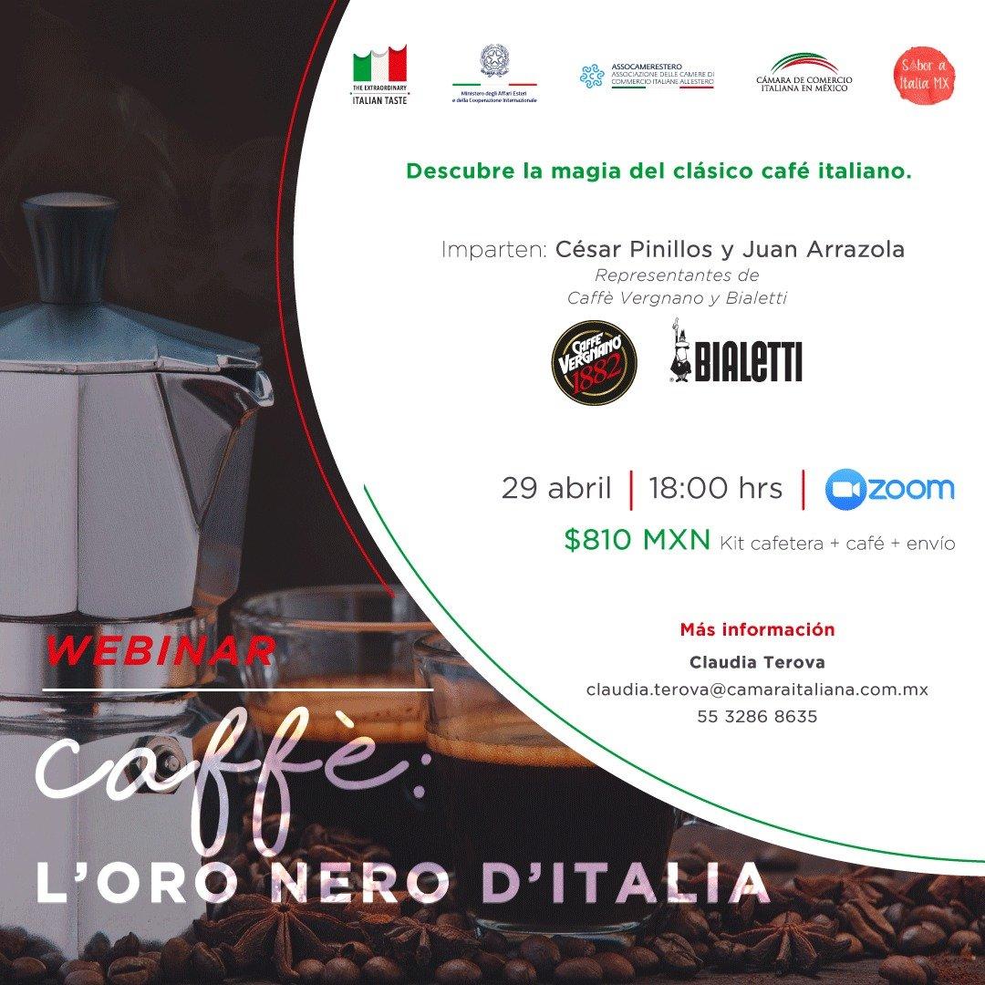 """Webinar """"Caffè: l'oro nero d'Italia"""""""