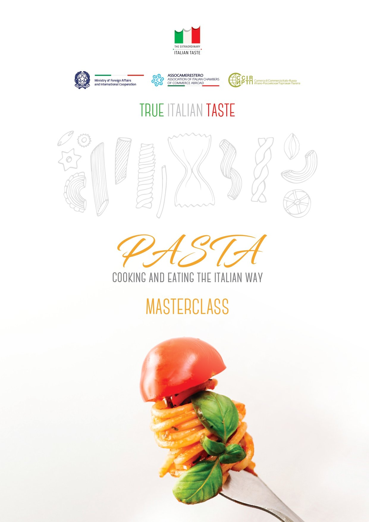 "Masterclass ""PASTA – Cooking and Eating the Italian Way"""