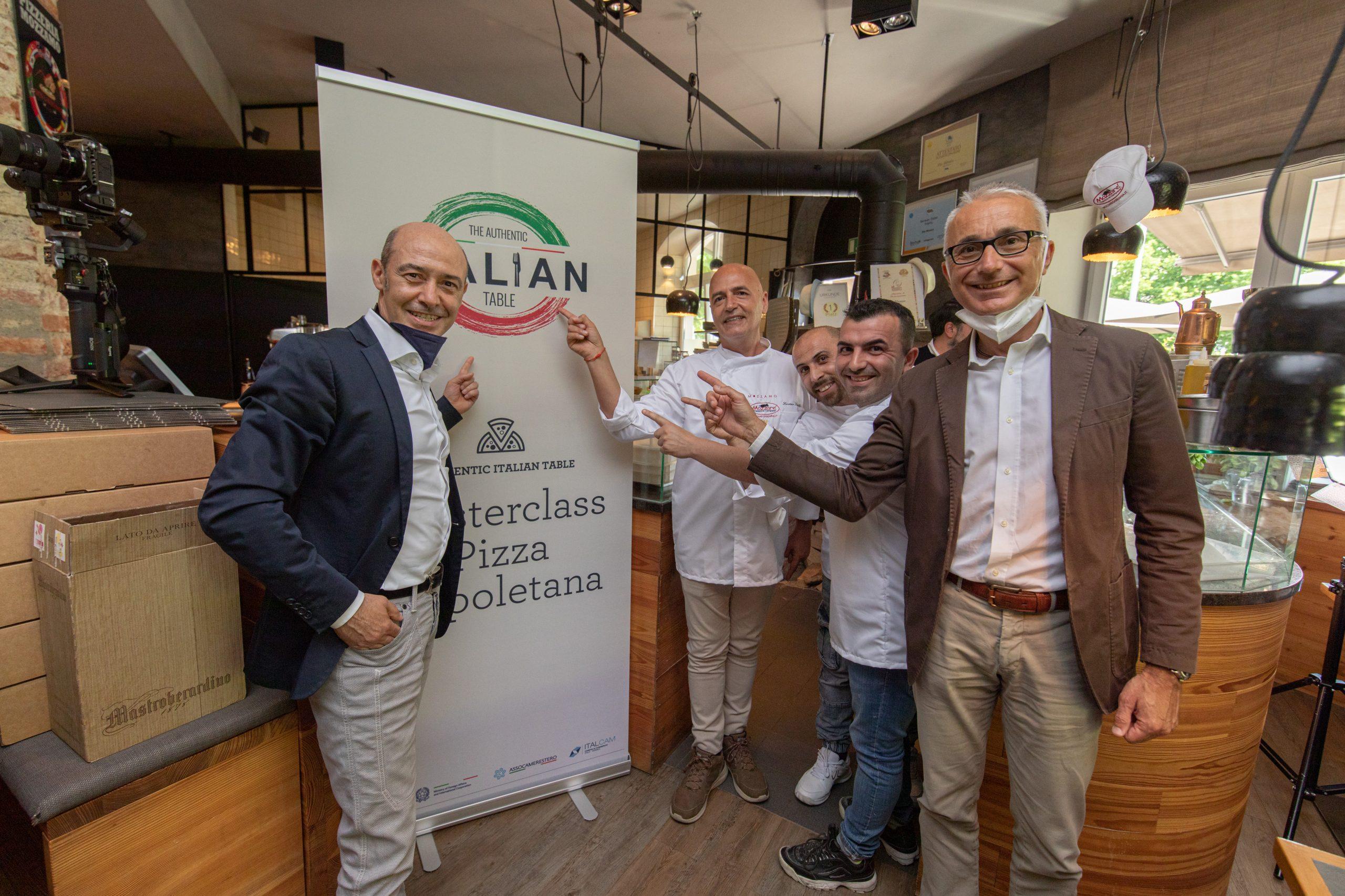 The Authentic ItaIian Table – All you need is cooking: Pizza Masterclass live con i Maestri pizzaioli di Scuola Bianca