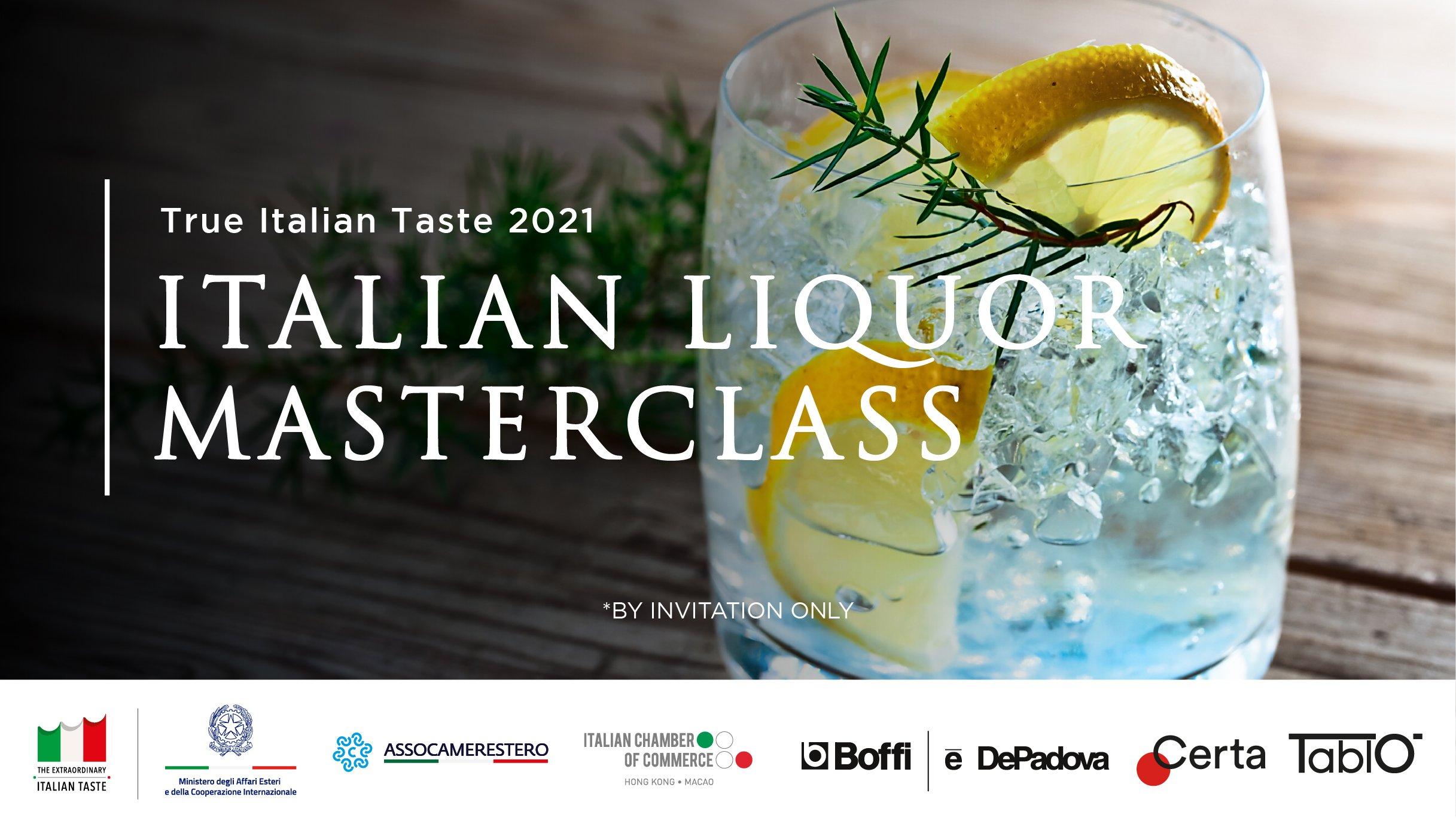Italian Liquor Masterclass