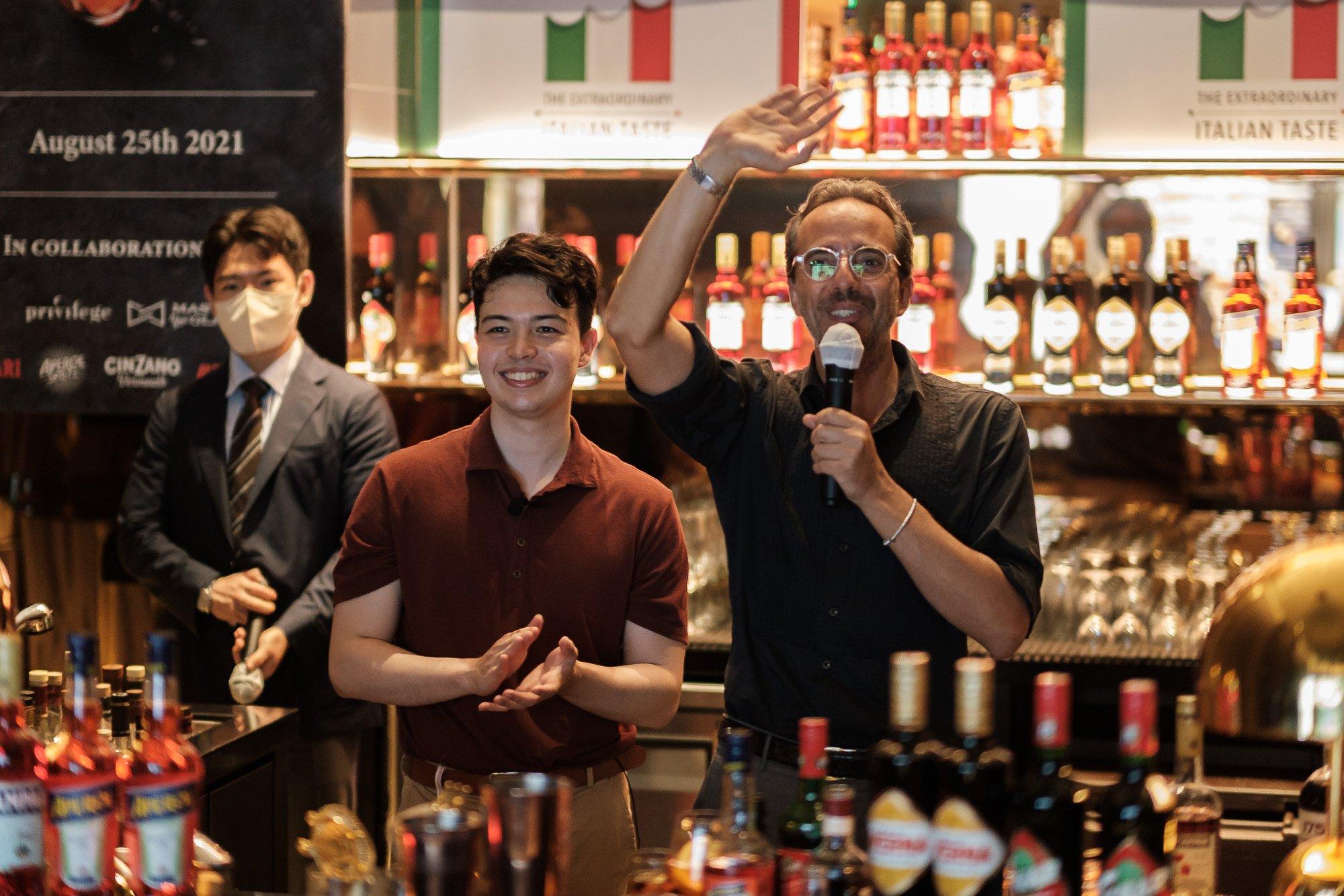 "Masterclass ""Italian Liqueurs night"""