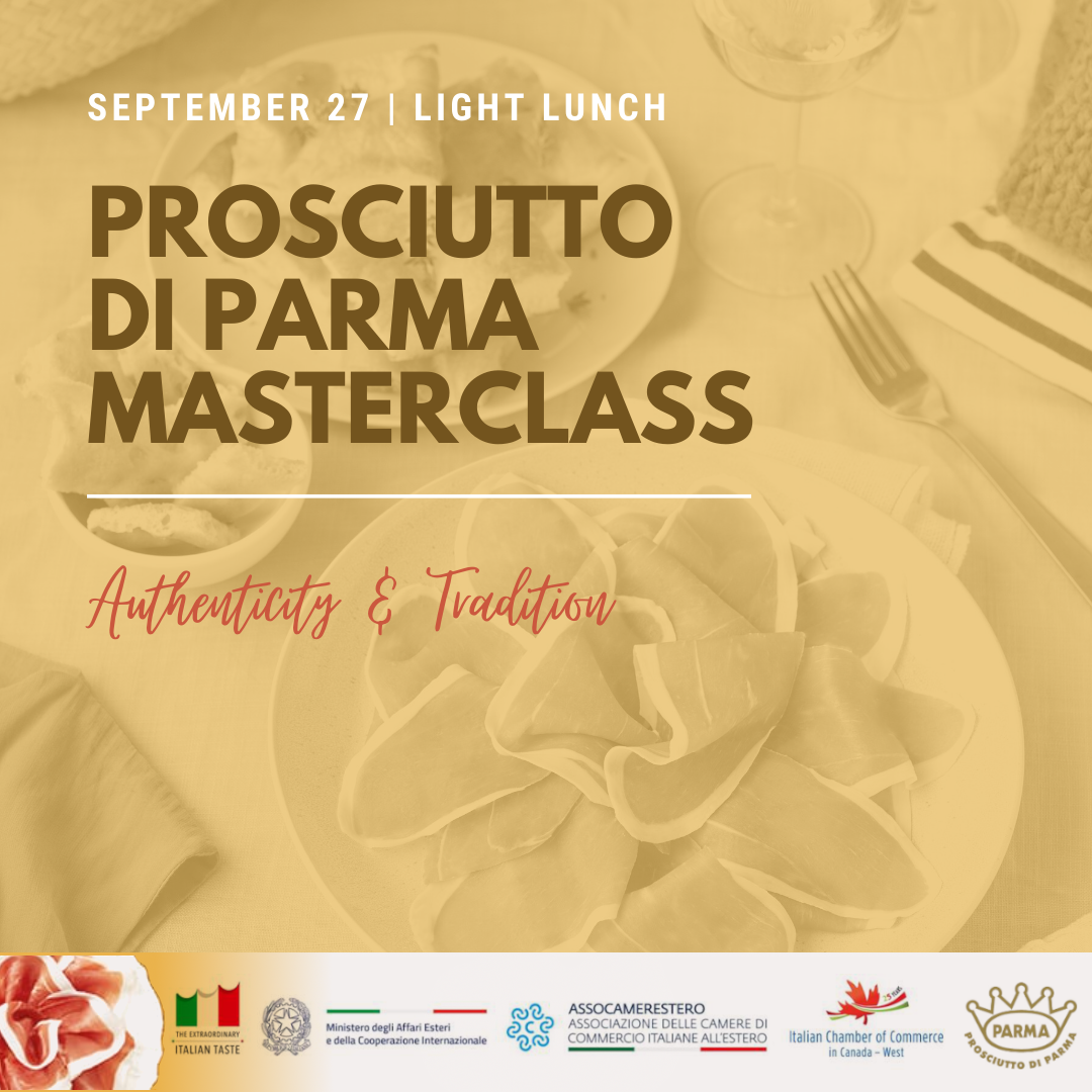 Prosciutto di Parma Masterclass: Authenticity & Tradition
